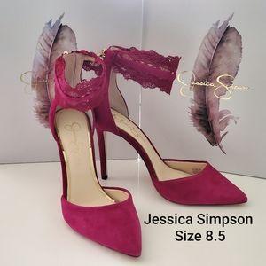 Jessica Simpson Portalynn Sangria 8.5
